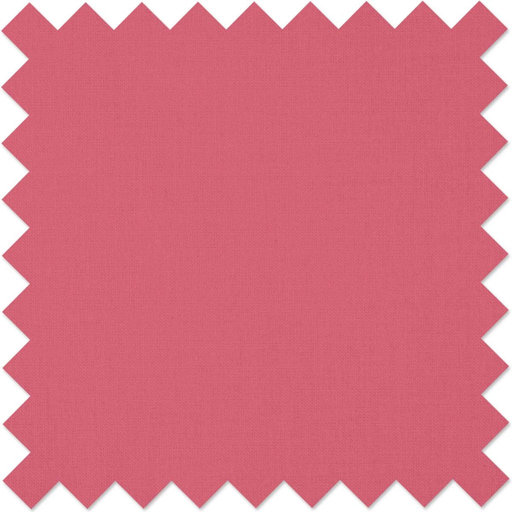Deep Rose Kona Cotton Fabric