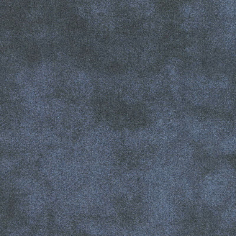 Woolies Color Wash Flannel - Midnight Navy Yardage
