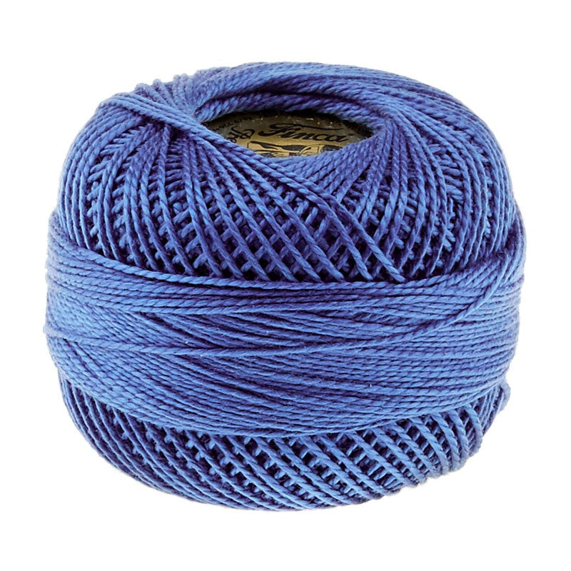 Presencia Perle Cotton Thread Size 8 Dark Delft Blue