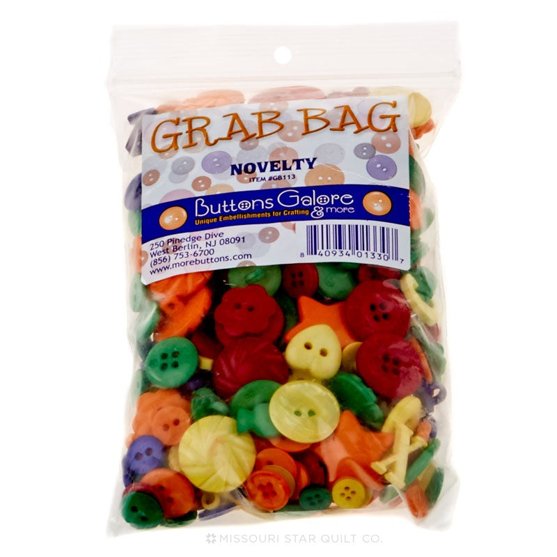 Button Grab Bag - Primary Novelty
