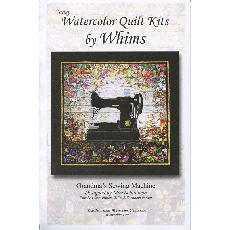 Grandma's Sewing Machine Watercolor Kit