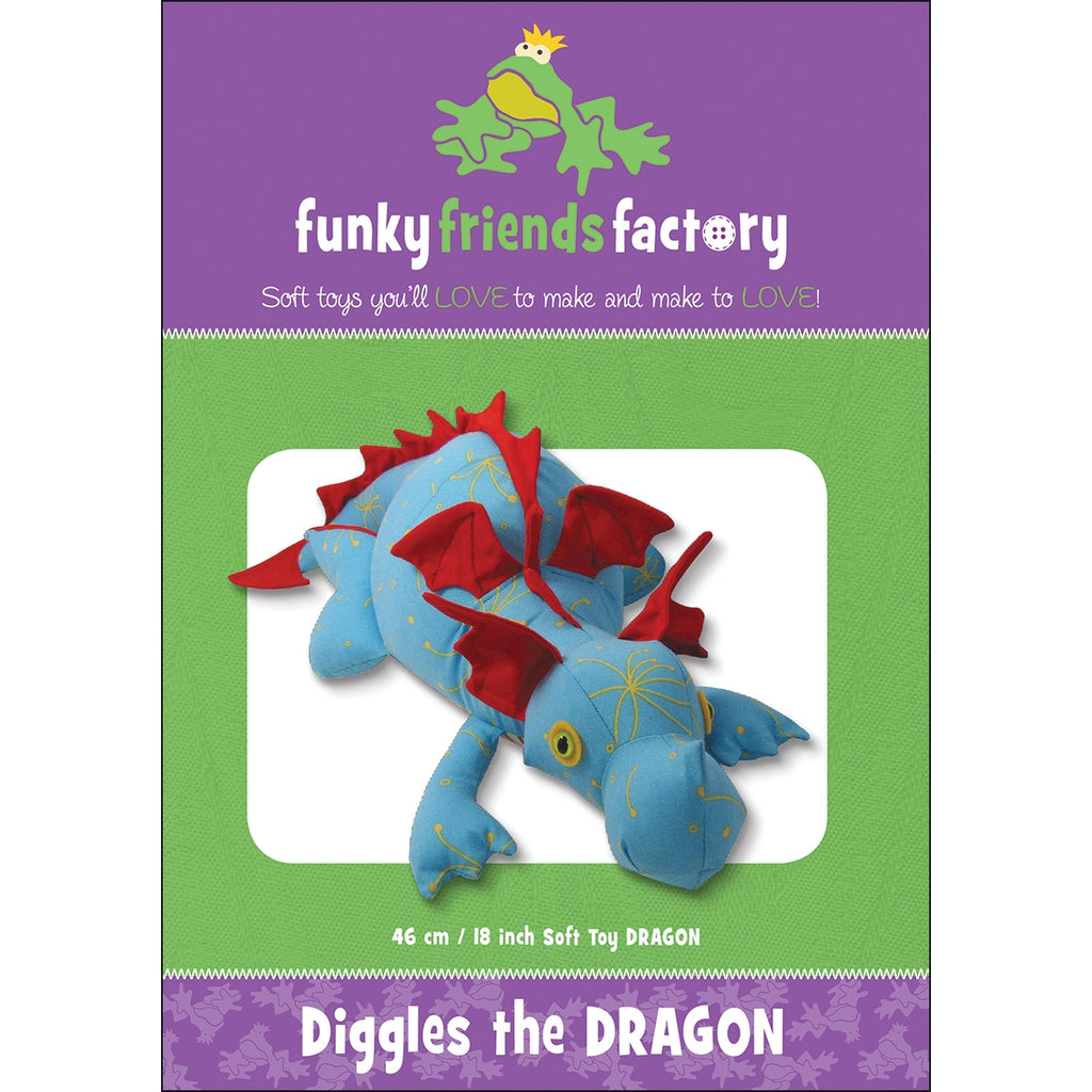 Diggles the Dragon Pattern