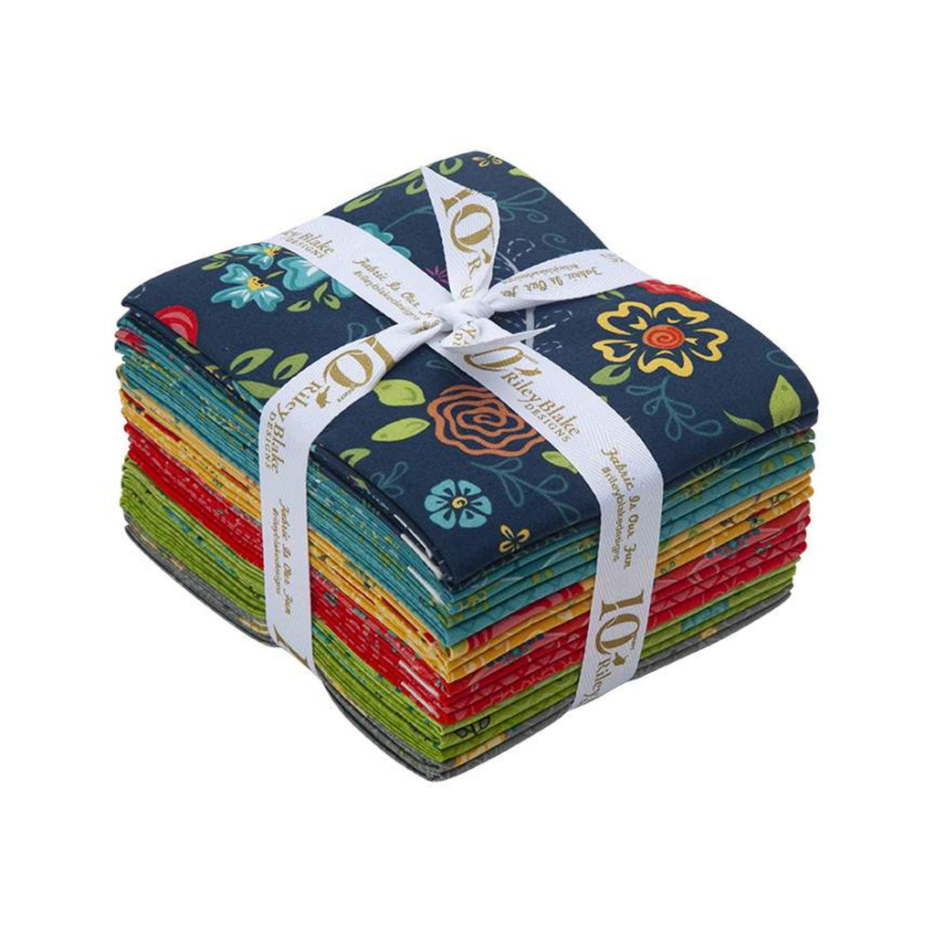 Riley Blake Wildflower Fat Quarter Pack