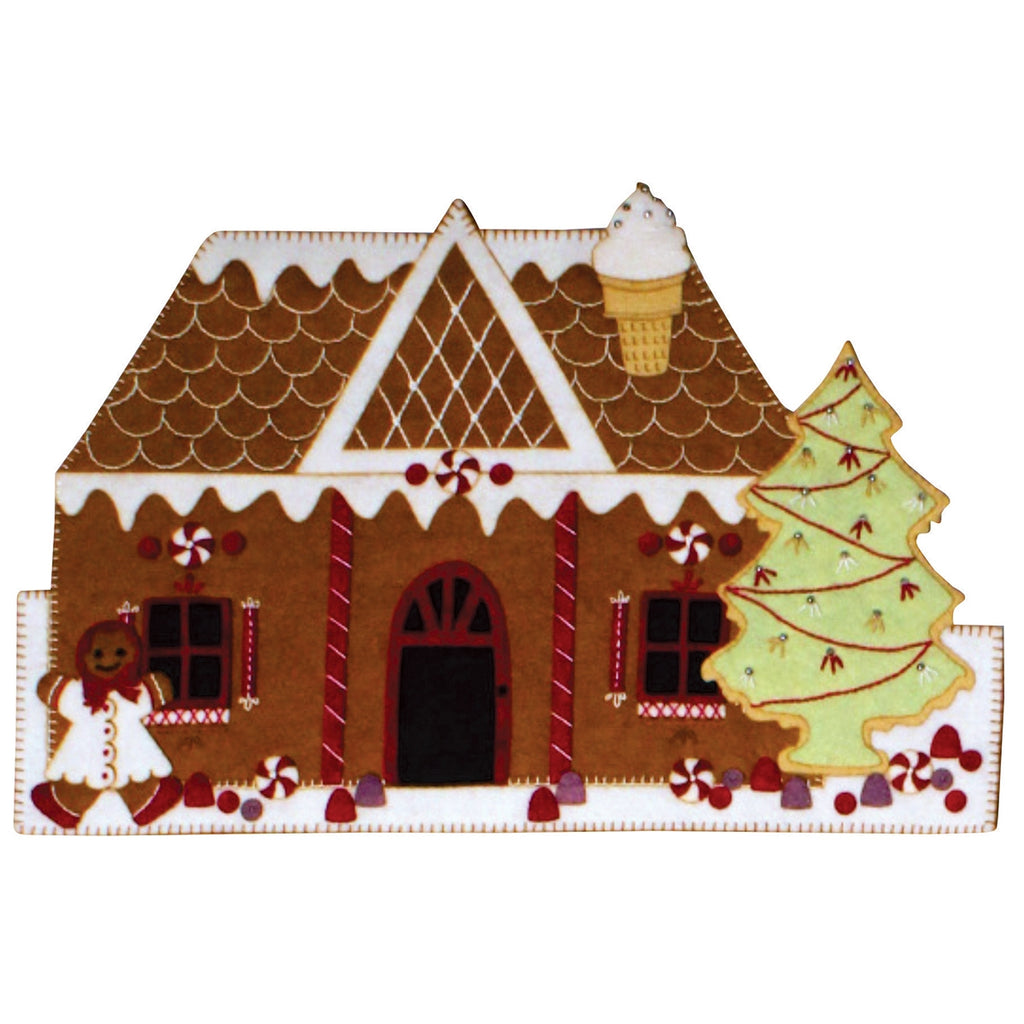Gingerbread Tudor WoolFelt Kit