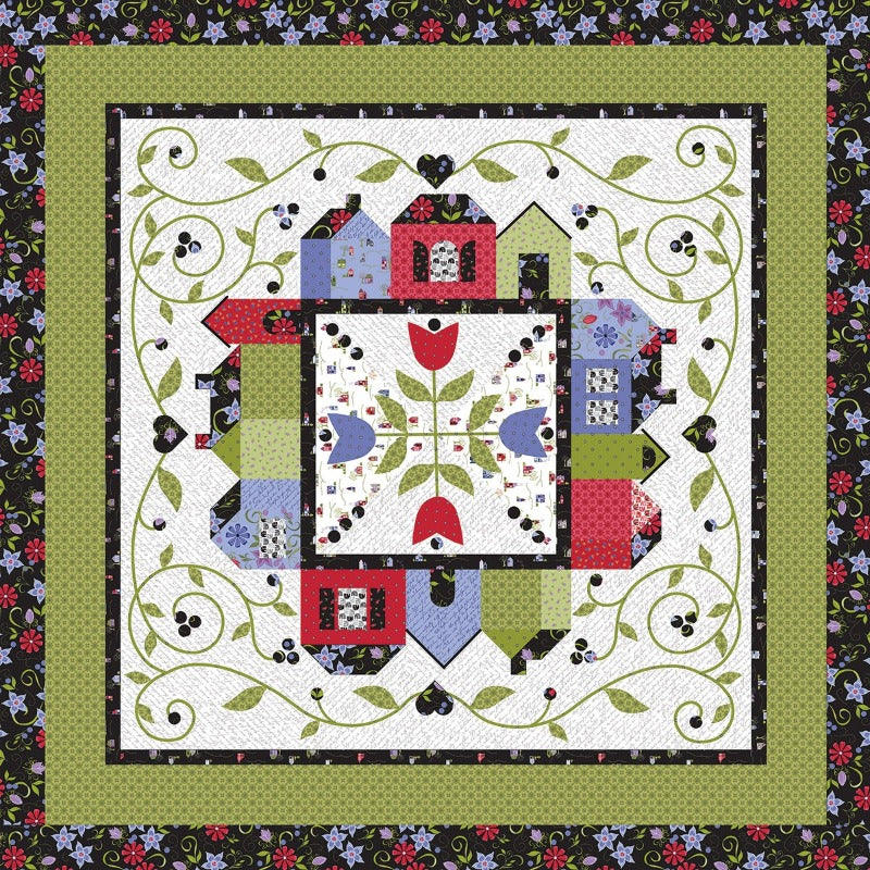 Home Again Around the Town Quilt Top Kit