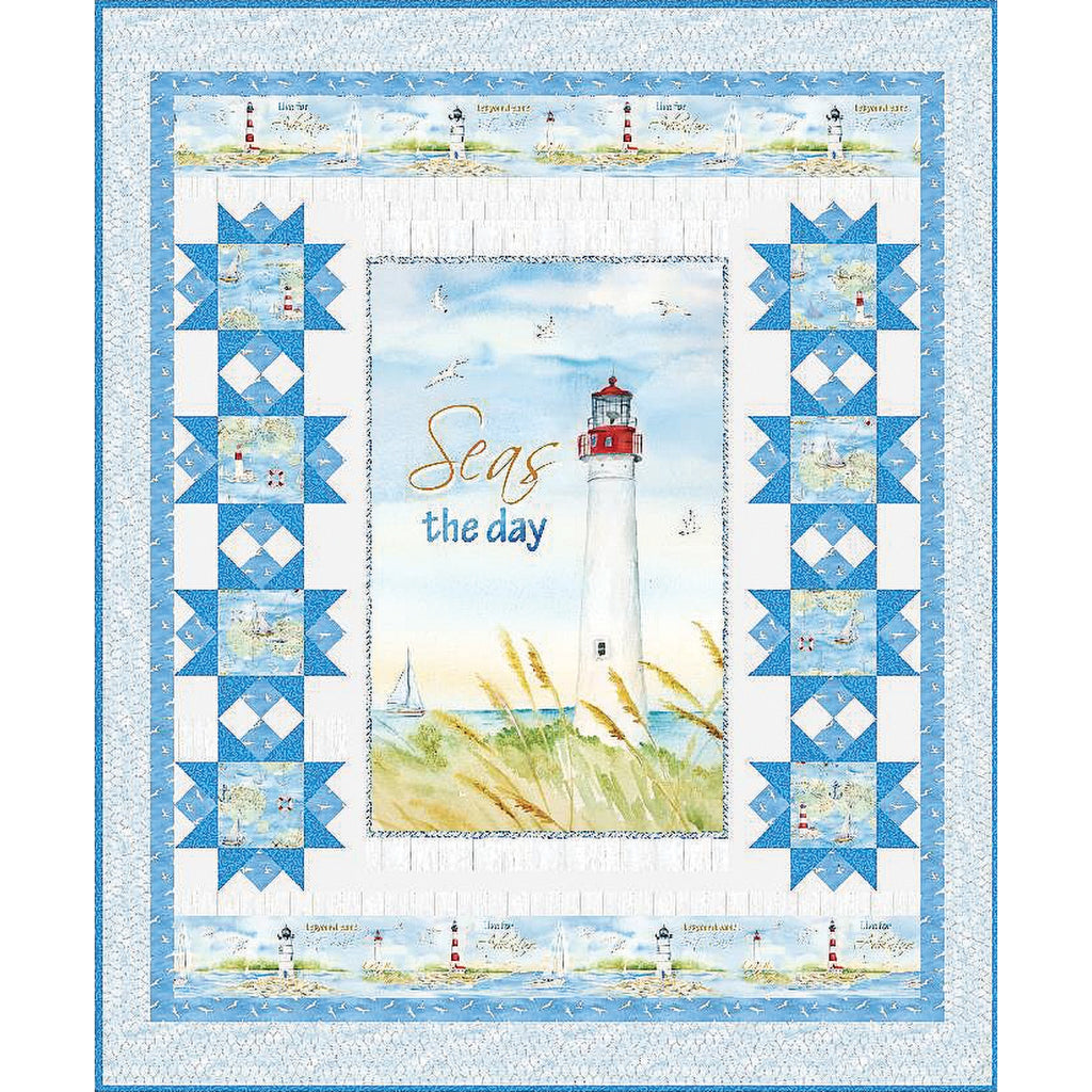 Harbor Lights Quilt Top Kit