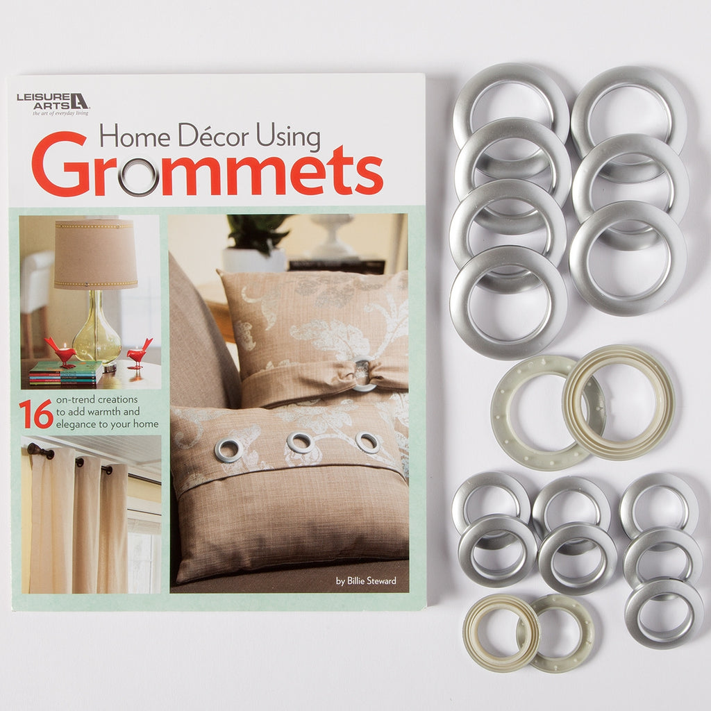 HOME DECOR USING GROMMETS BOOK AND GROMMETS