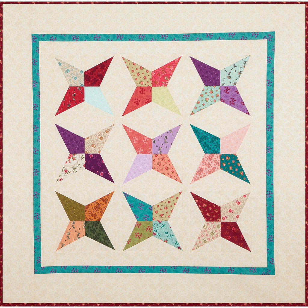 Homestead Family Farmstead Quilt Top Kit