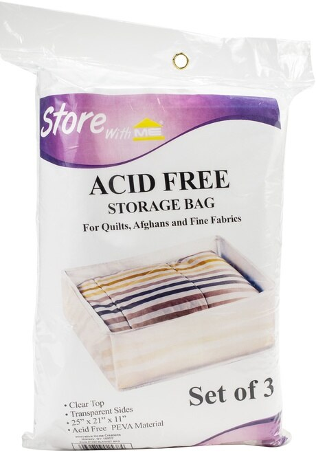 Set of 3 Acid Free Storage Bags