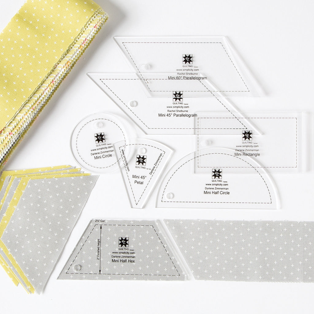 Jelly Roll Mini Template Set 2