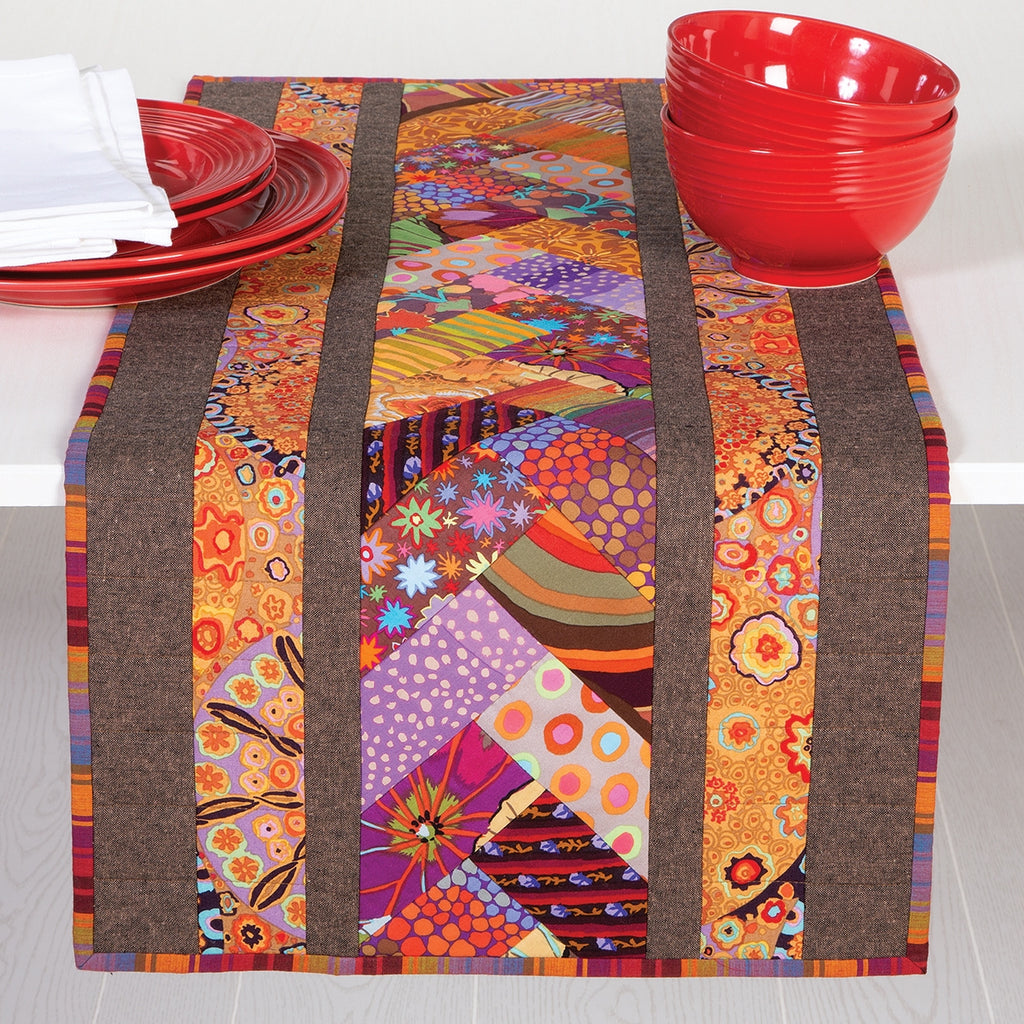 June Tailor Venice Table Runner Printed Batting
