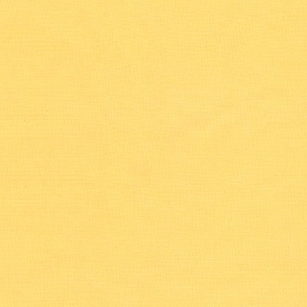 Lemon Kona Cotton Fabric