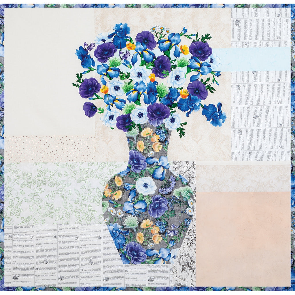 Kate Bouquet Quilt Top Kit