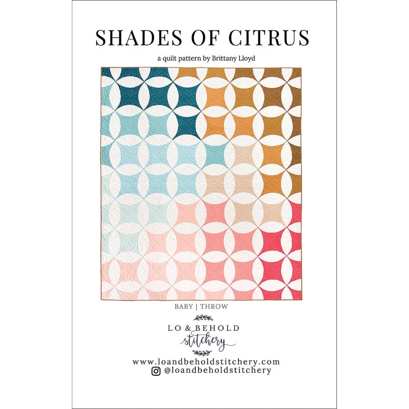 Shades of Citrus Quilt Pattern