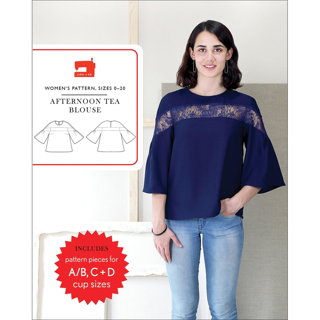 Afternoon Tea Blouse Pattern