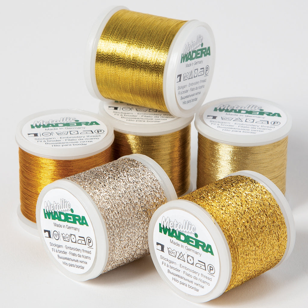 Madeira Metallic Sampler Thread Pack
