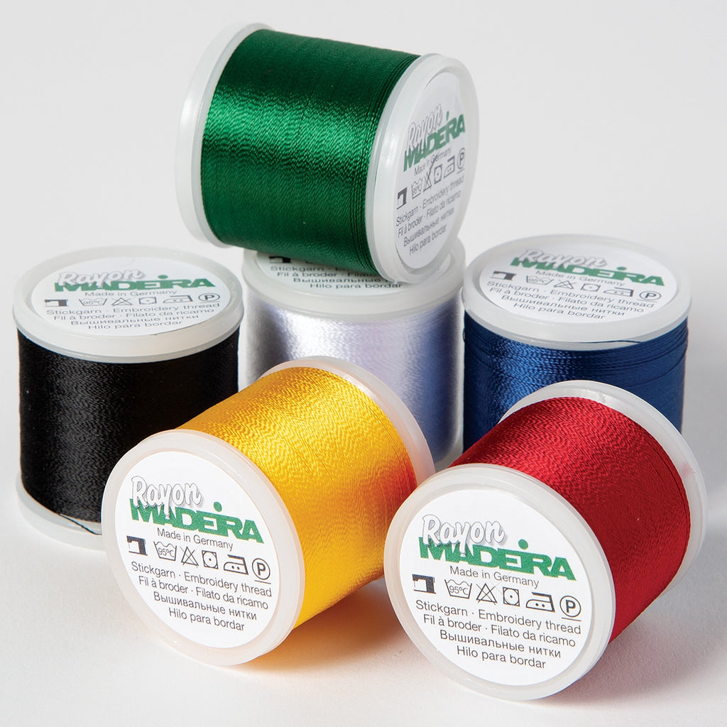 Madeira Rayon Sampler Thread Pack