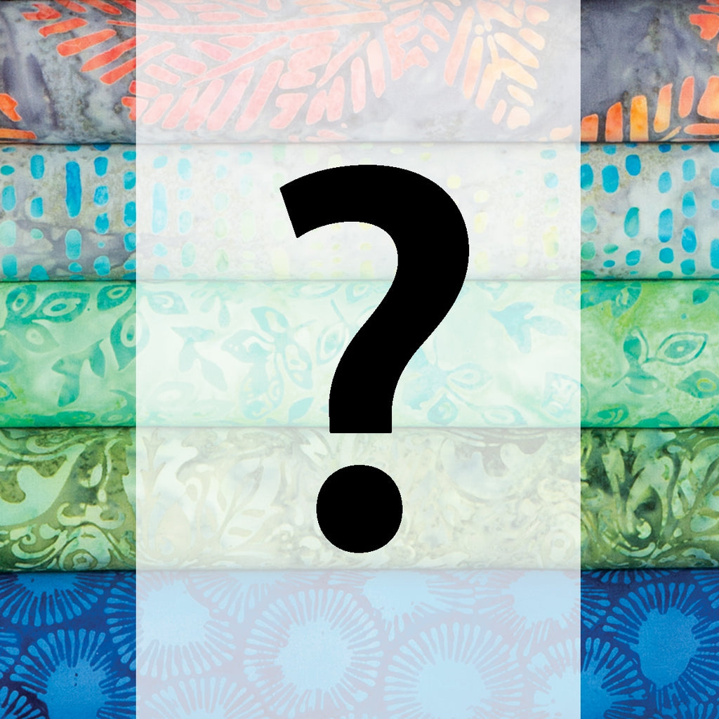 Mystery Batik Fat Quarter Pack