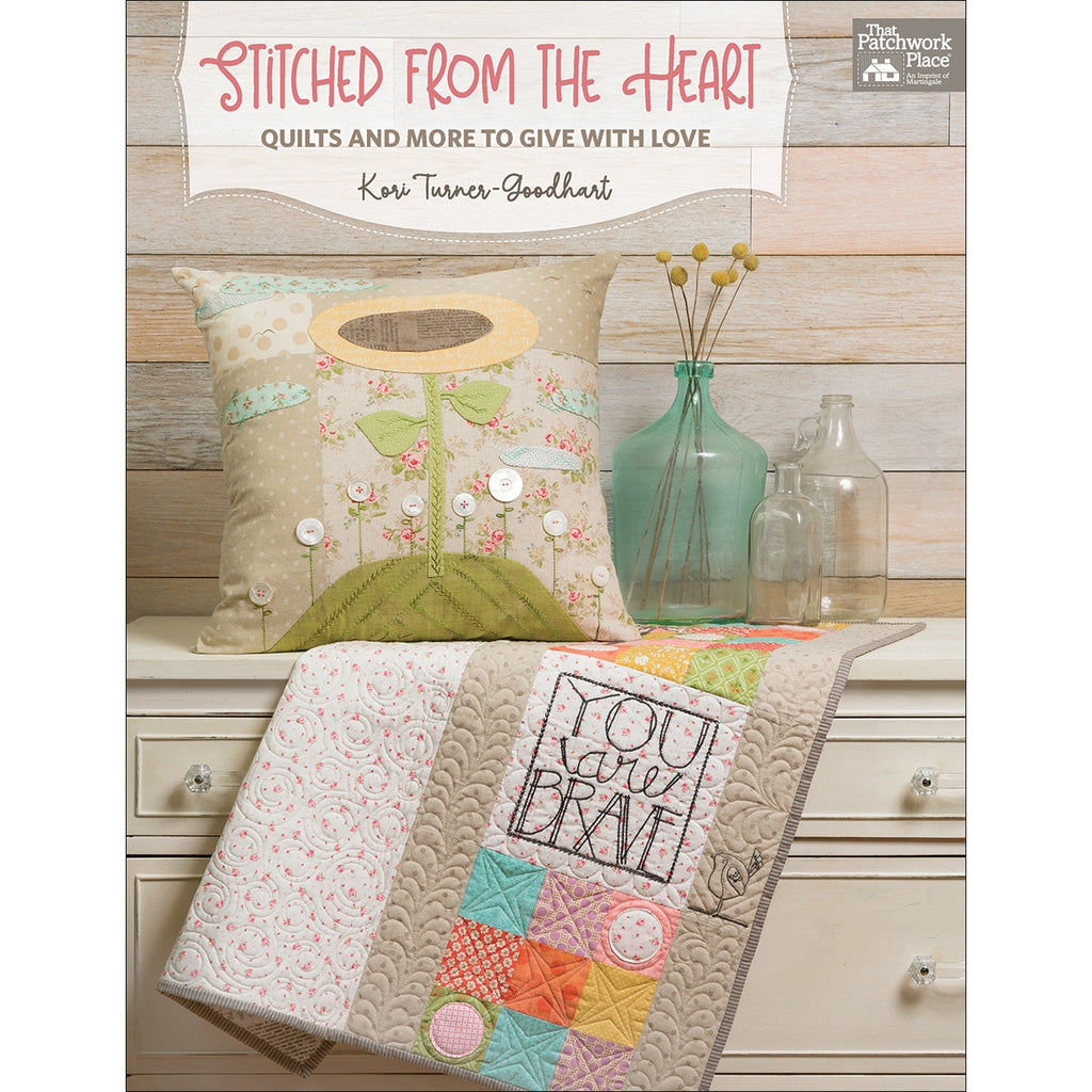 Stitched from the Heart Book