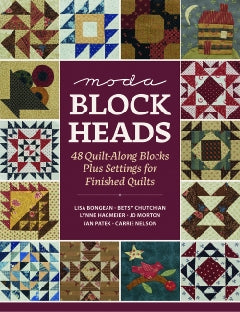 Moda Block Heads Book