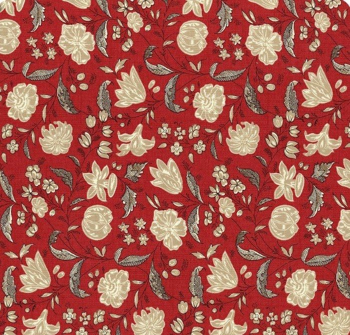 Chafarcani Rouge Fabric by Moda