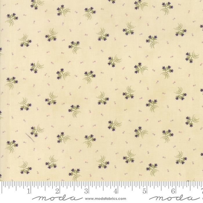 Clover Meadow Ivory Tonal Fabric