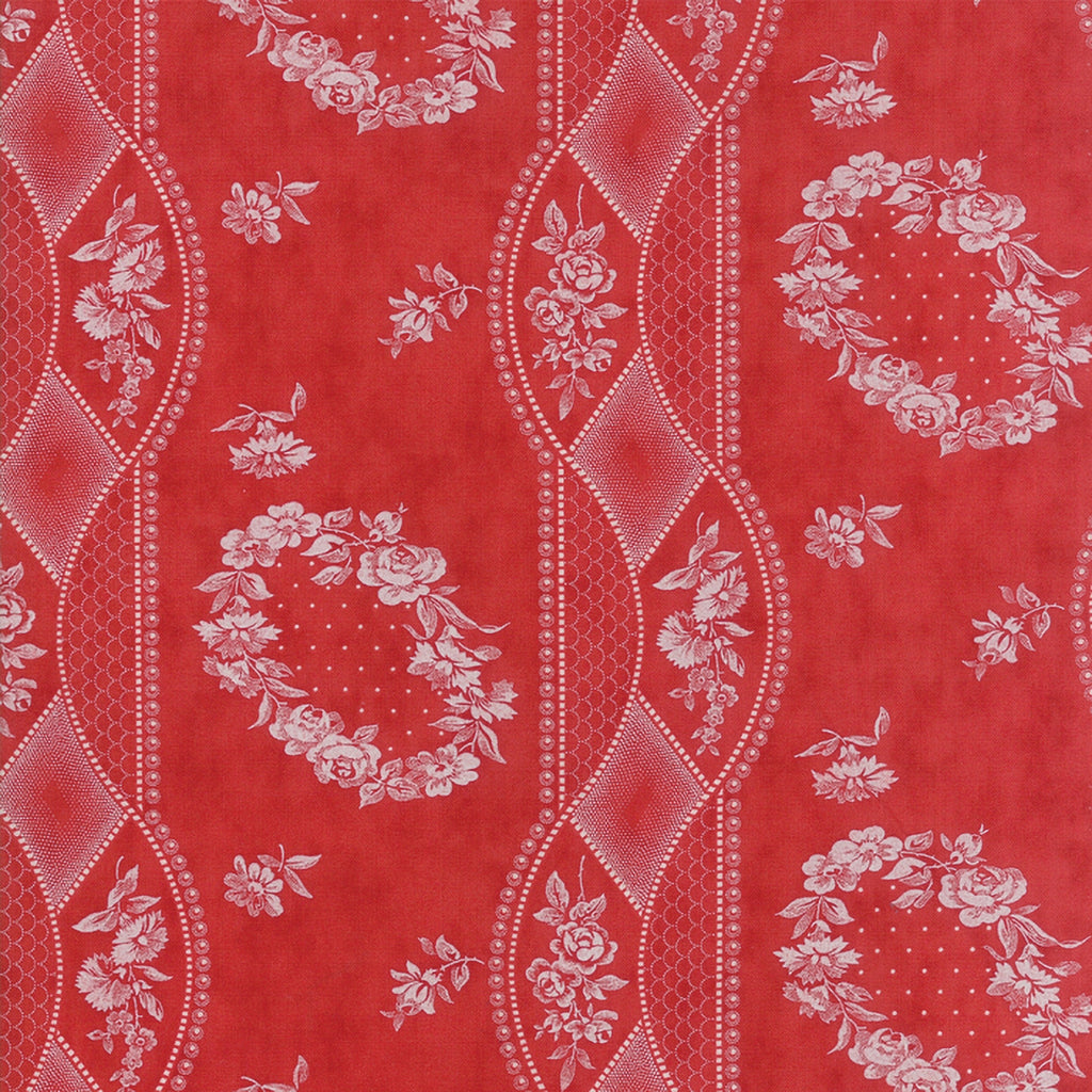 Portsmouth Red Fabric