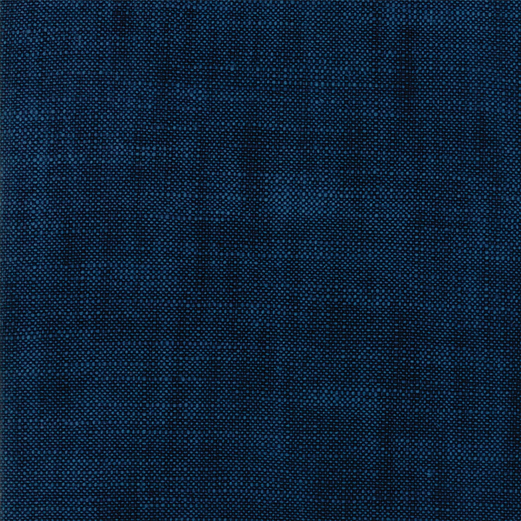Boro Indigo Woven Canvas Fabric