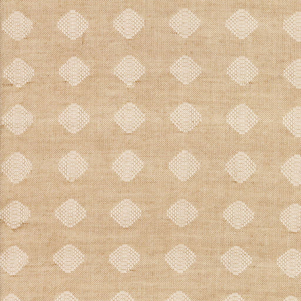 Boro Flax Woven Diamond Fabric
