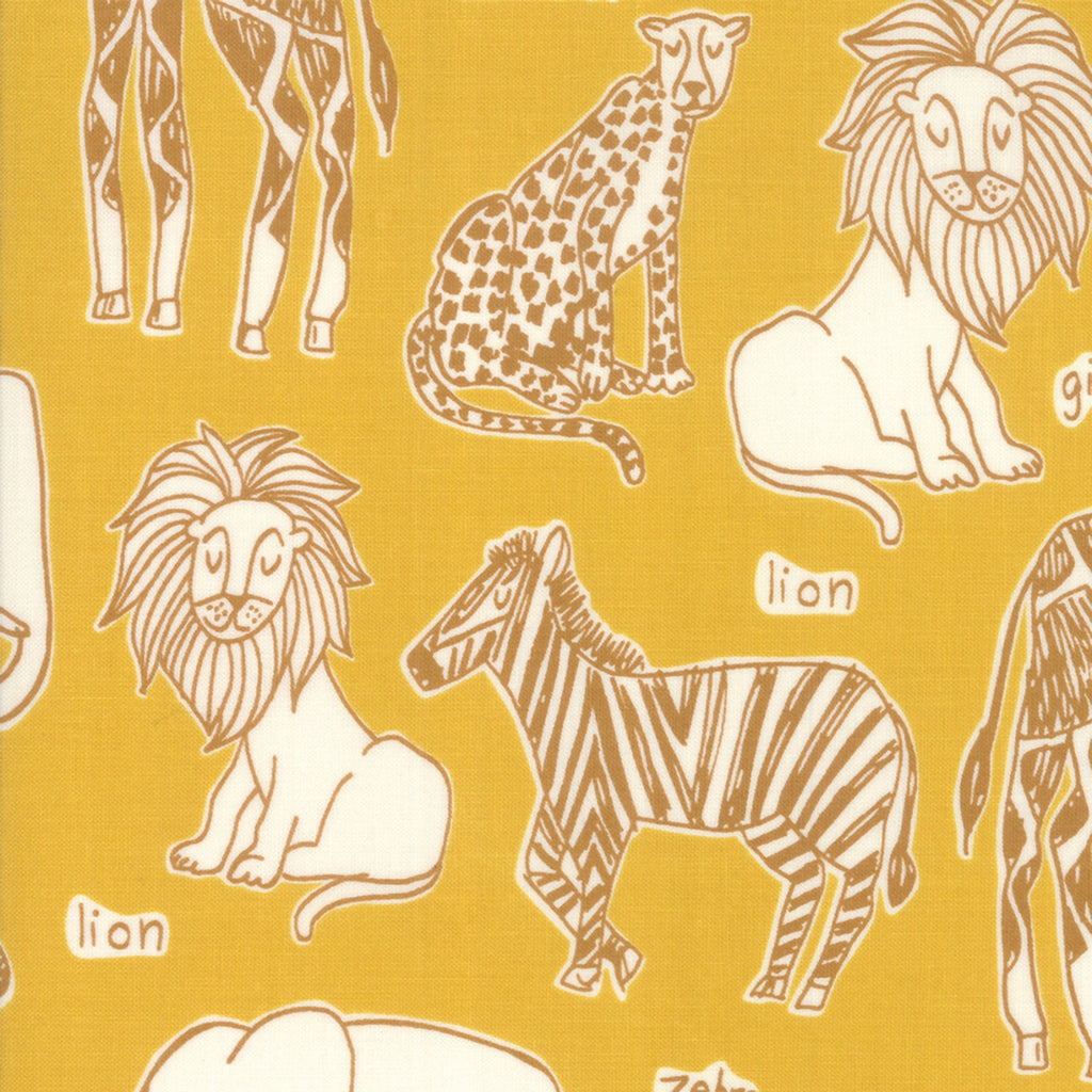 Safari Life Animal Fabric