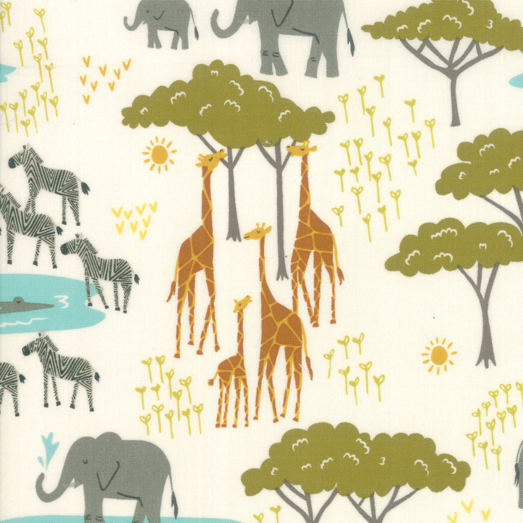 Safari Life Jungle Fabric