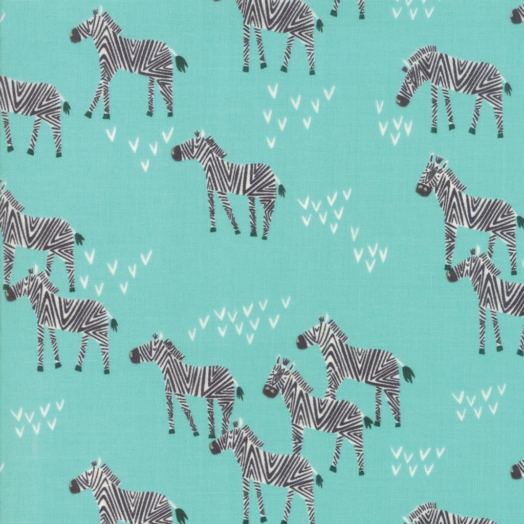 Safari Life Zebra Fabric