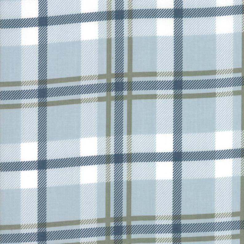 Harvest Road Forever Plaid Fabric