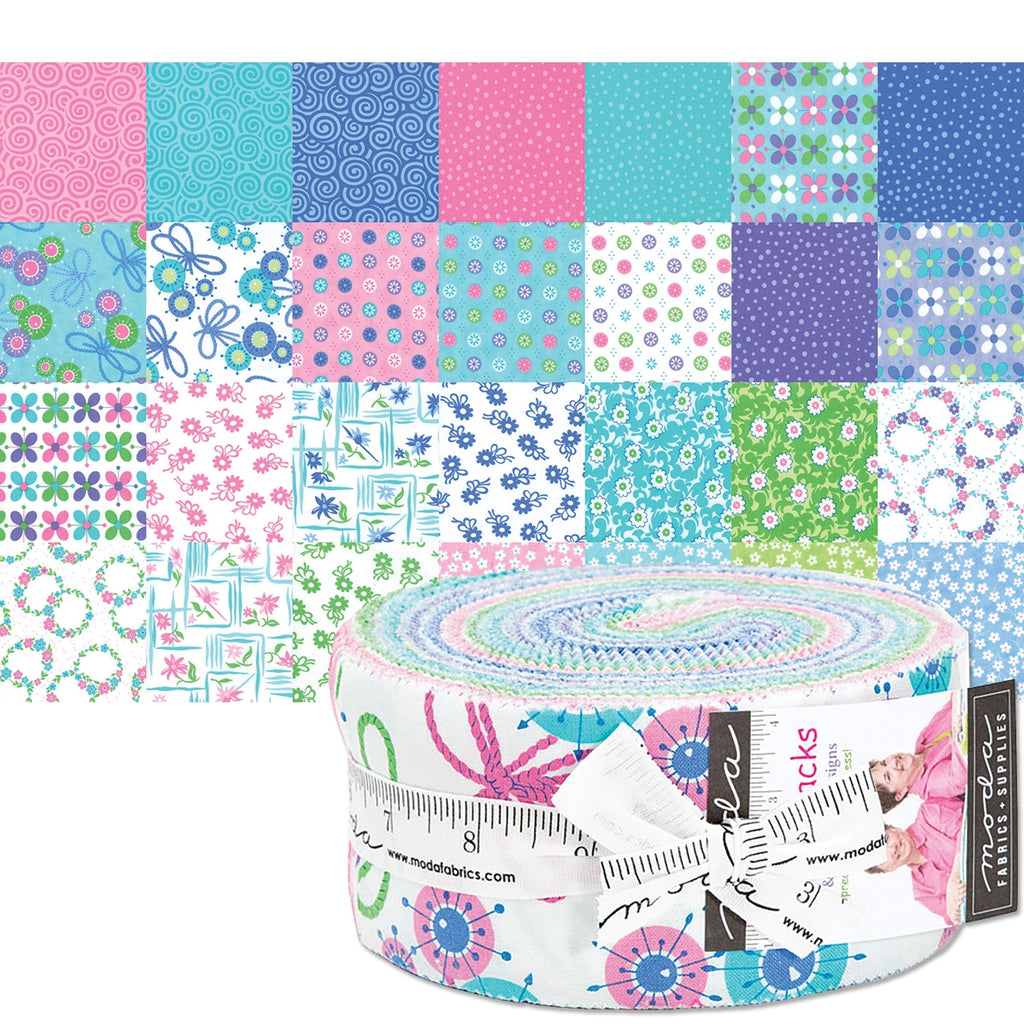 "Flower Sacks 2-1/2"" Fabric Strips"