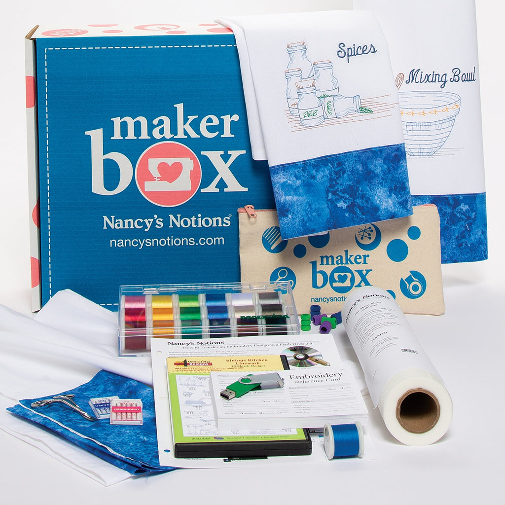 Machine Embroidery Maker Box