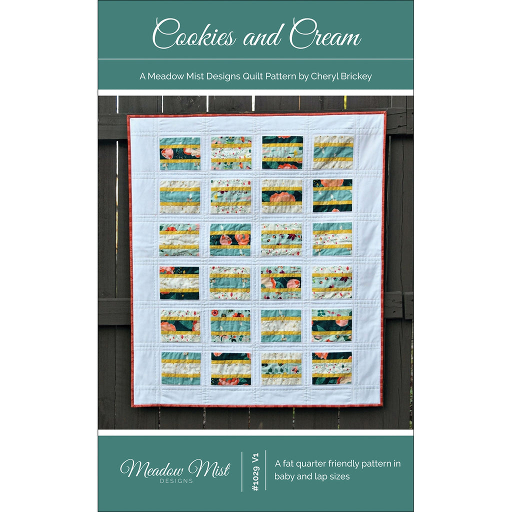 Cookies and Cream Quilt Pattern