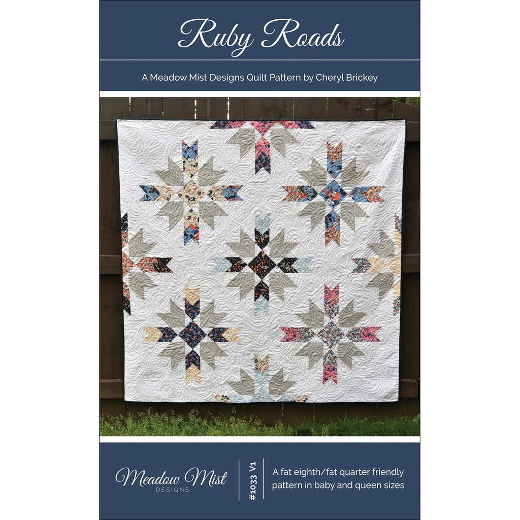 Ruby Roads Quilt Pattern