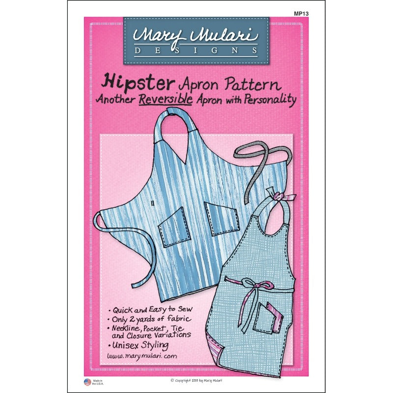 Hipster Apron Pattern