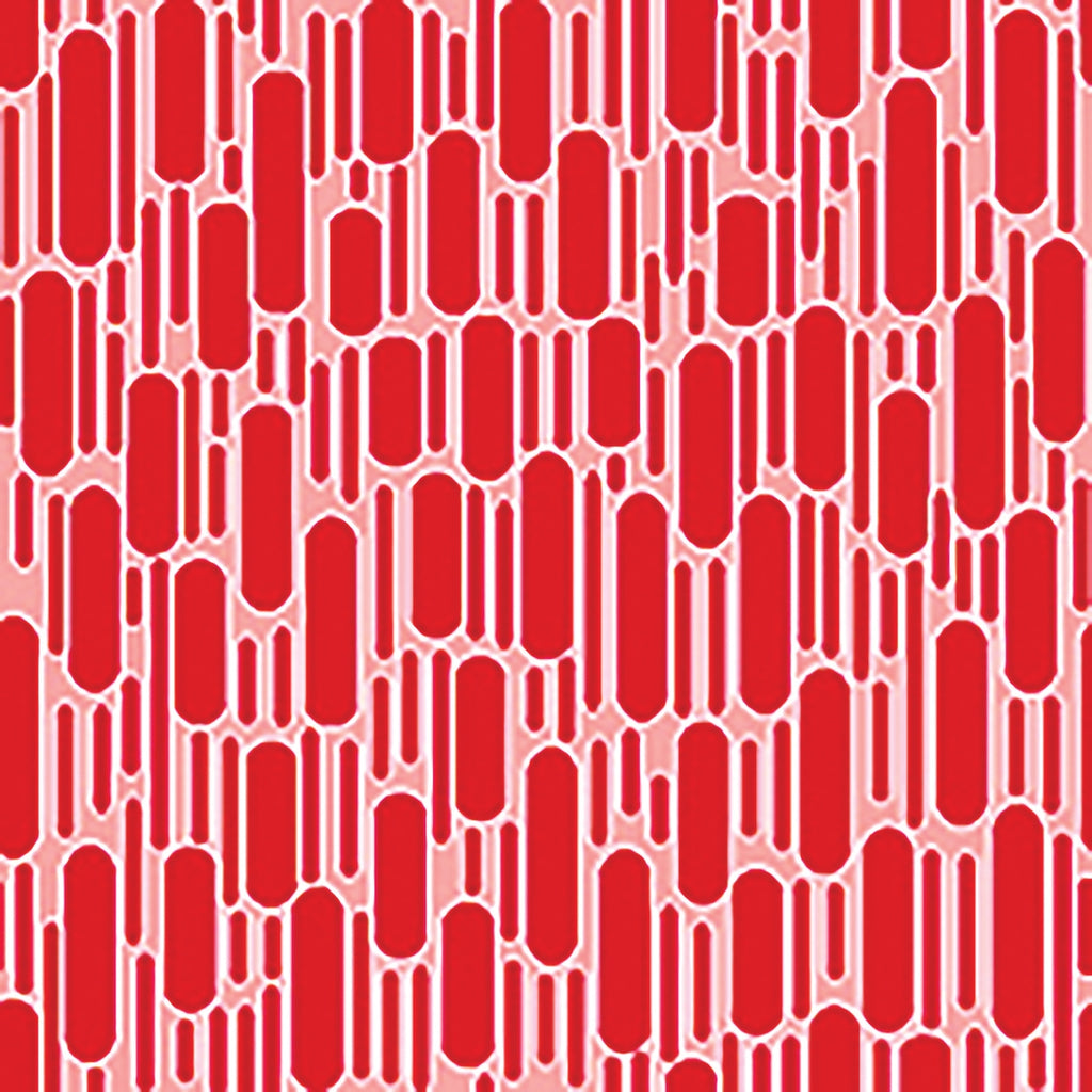 Hi-de-Ho Red Tonal Dashes Fabric