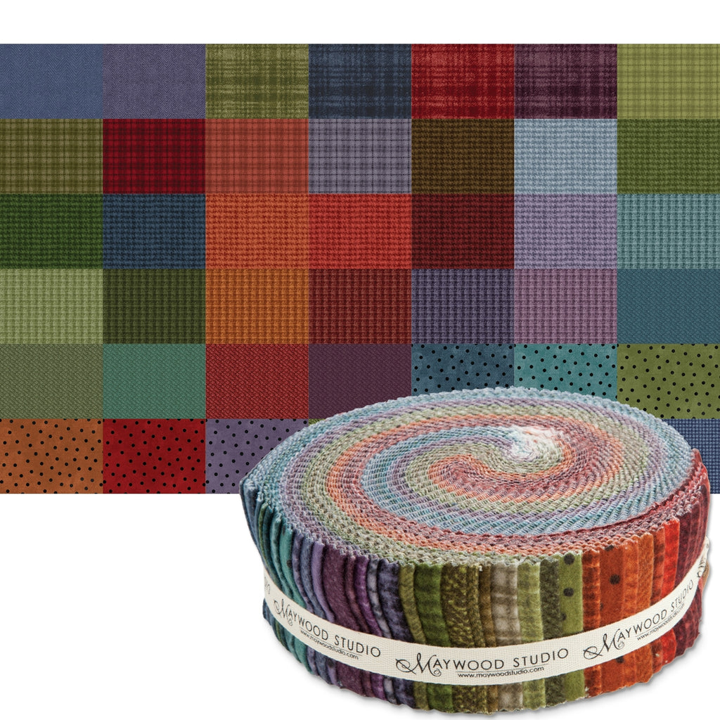 "Colors Woolies Flannel 2-1/2"" Fabric Strips"