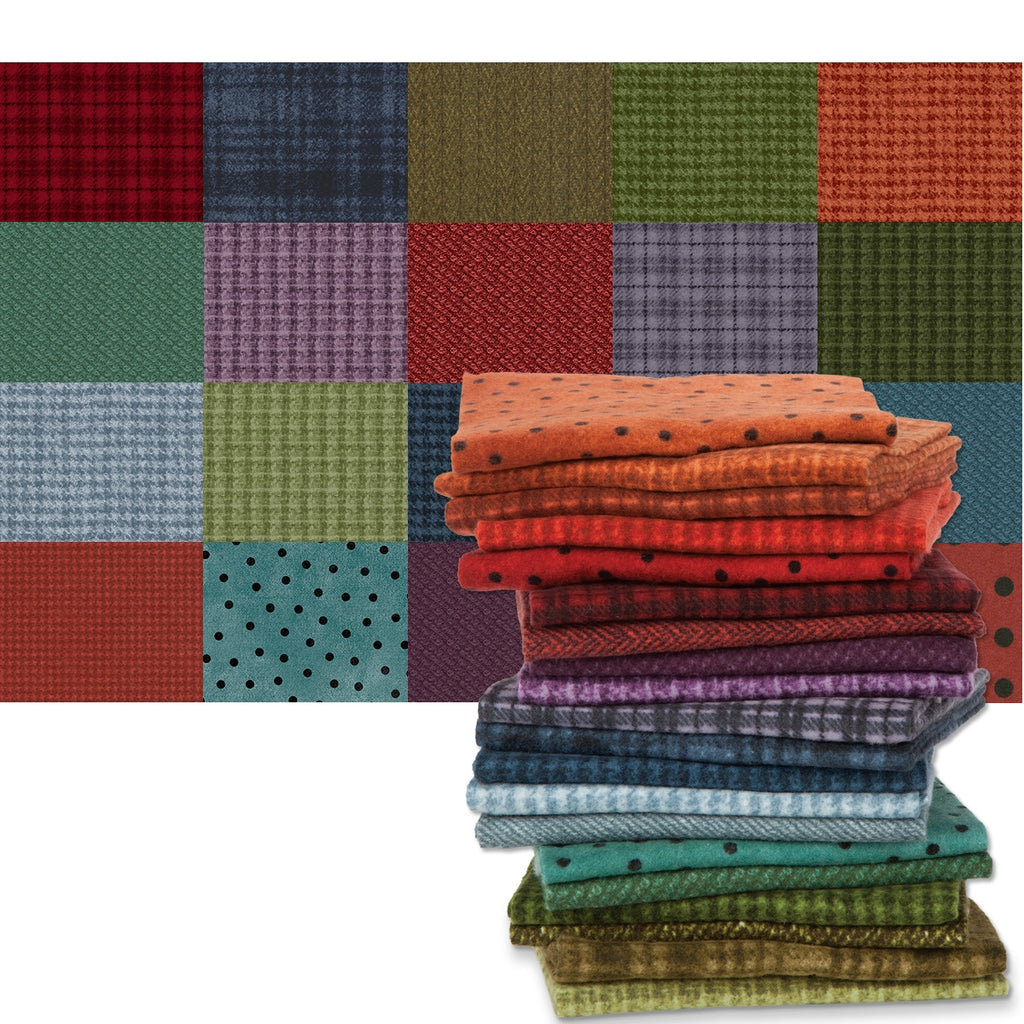 Colors Woolies Flannel Fat Quarter Pack