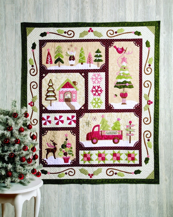 Sew Merry Quilt Top Kit