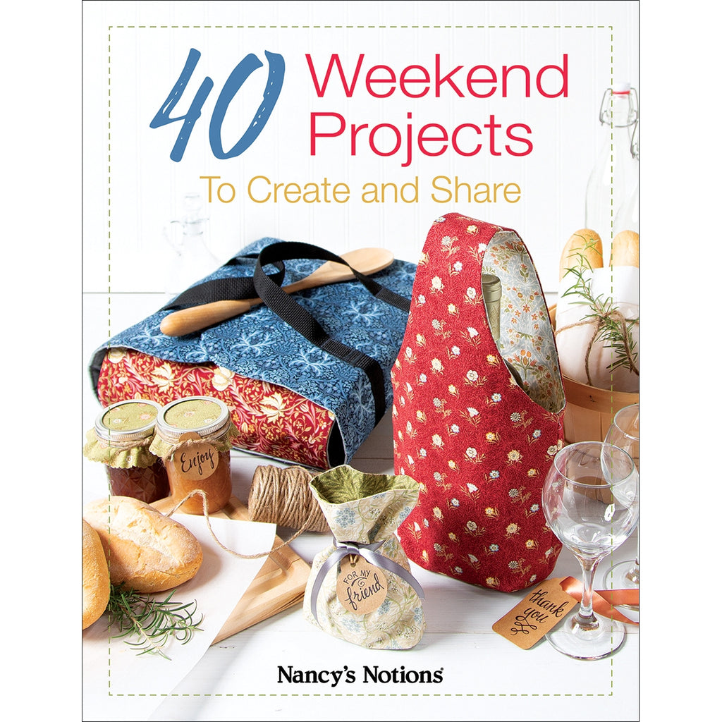 40 Weekend Projects to Create and Share Book
