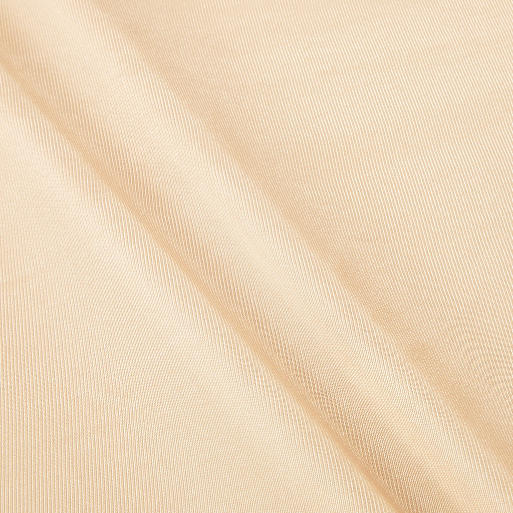 Beige Nylon Tricot Knit Fabric