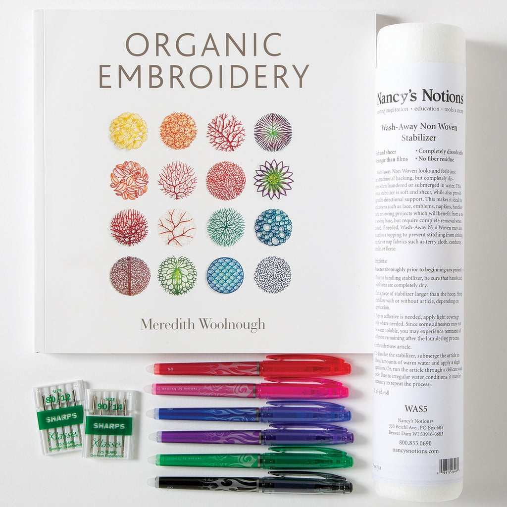 Organic Embroidery Starter Set