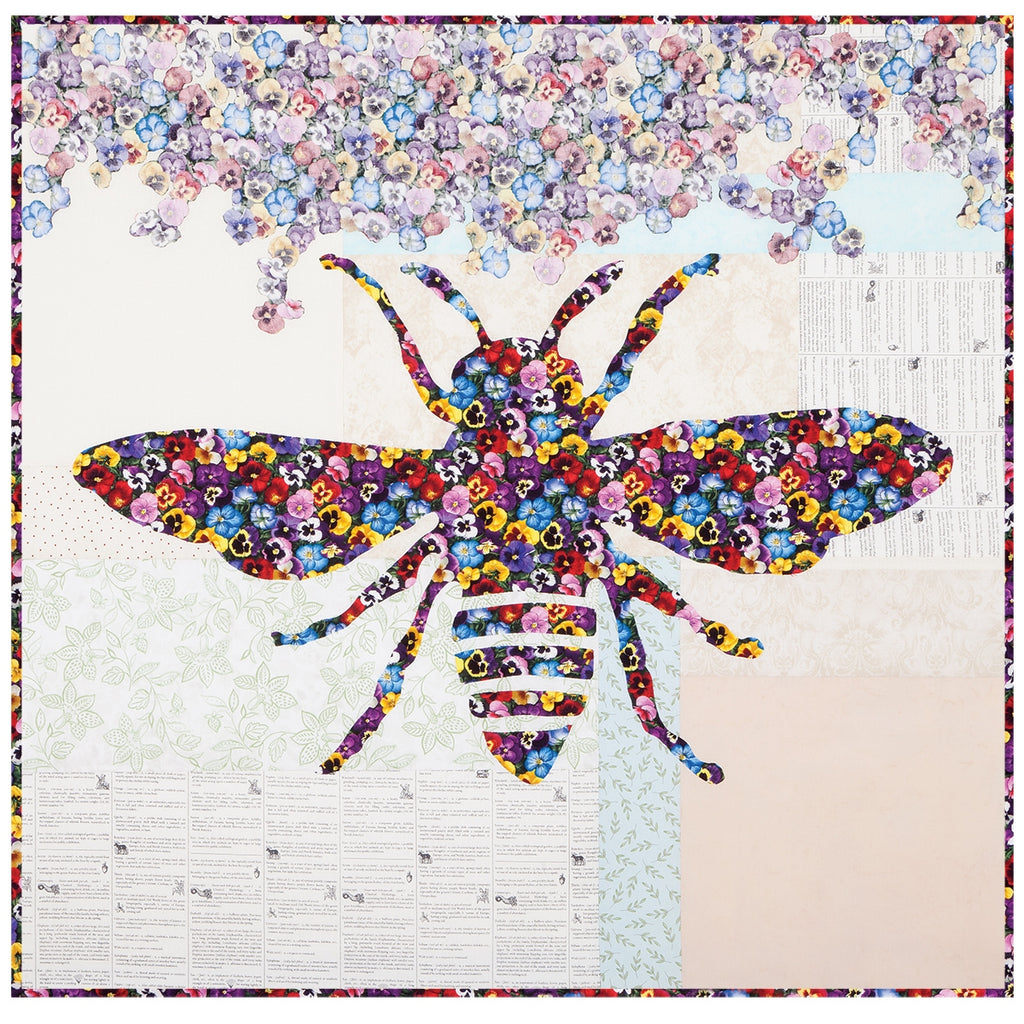 Phoebee Bee Quilt Top Kit
