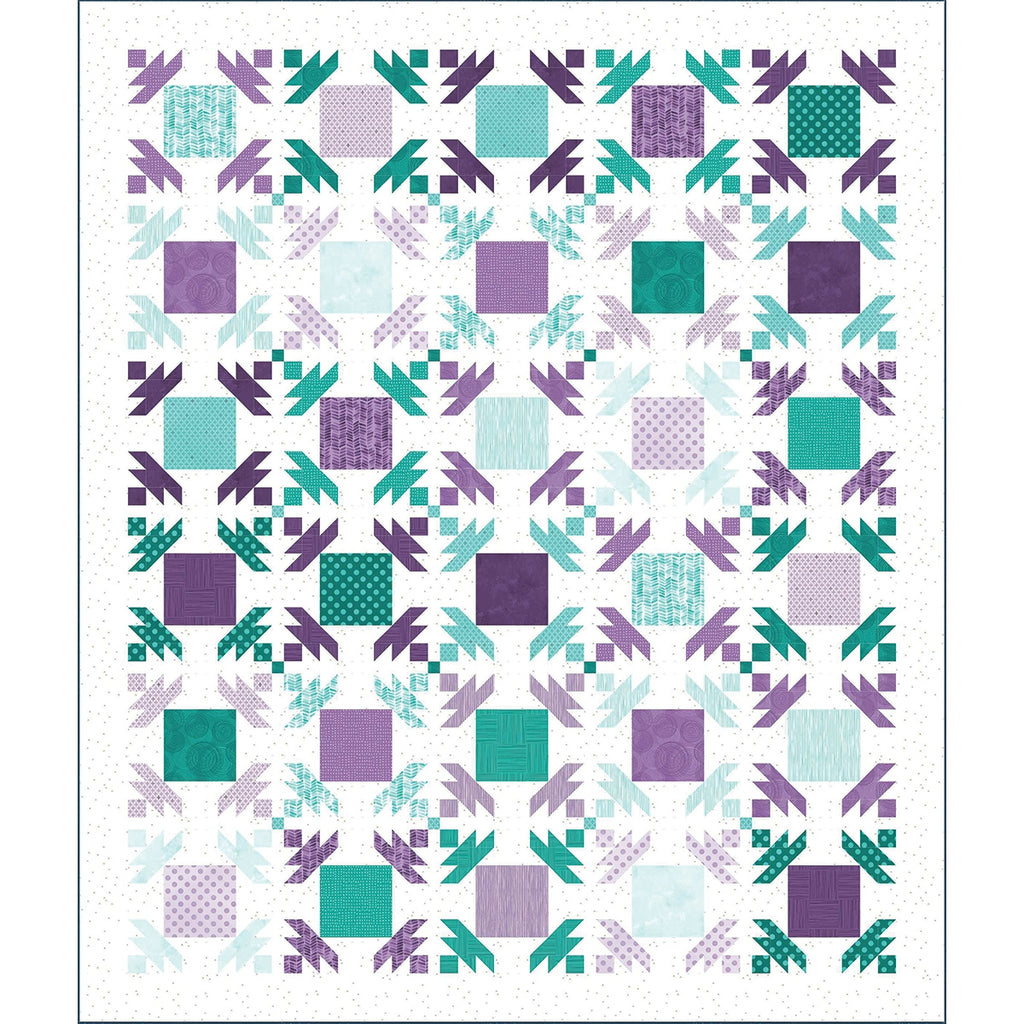 Pineapple Patch Quilt Top Kit