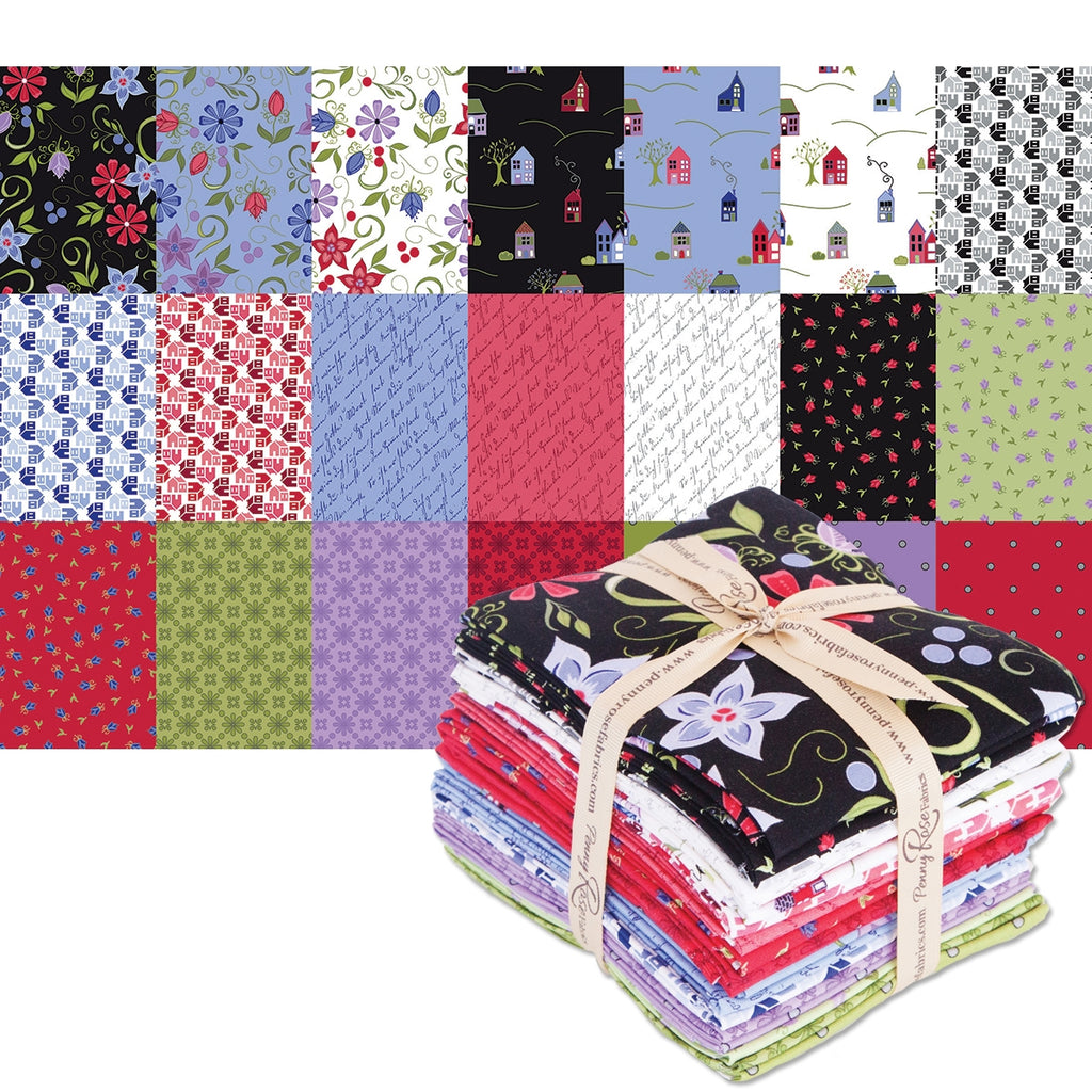 Home Again Fat Quarter Pack