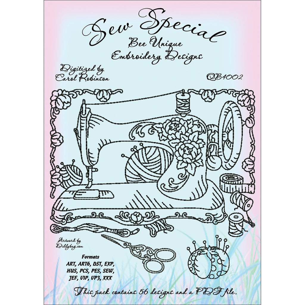 Sew Special Embroidery Designs