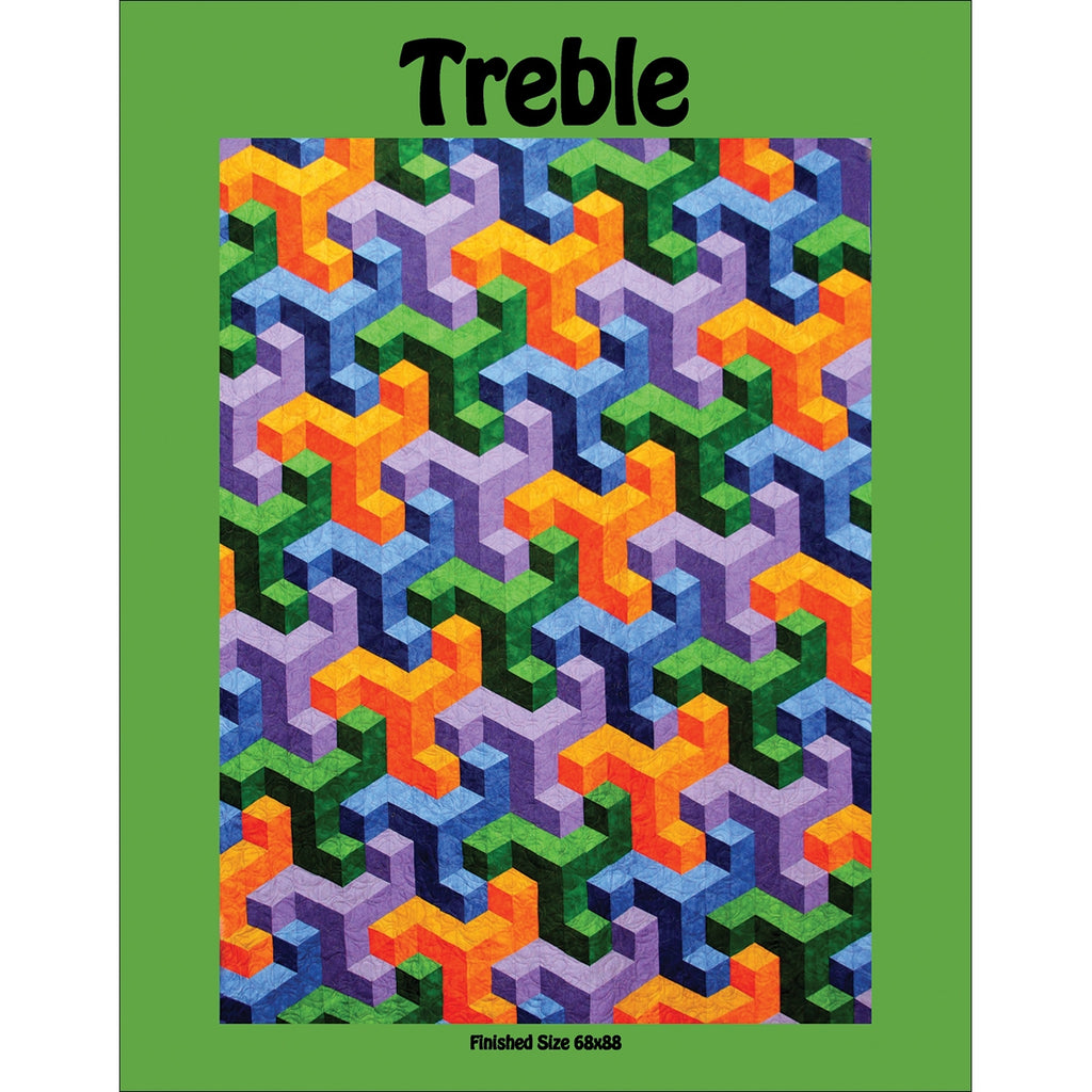 Treble Quilt Pattern